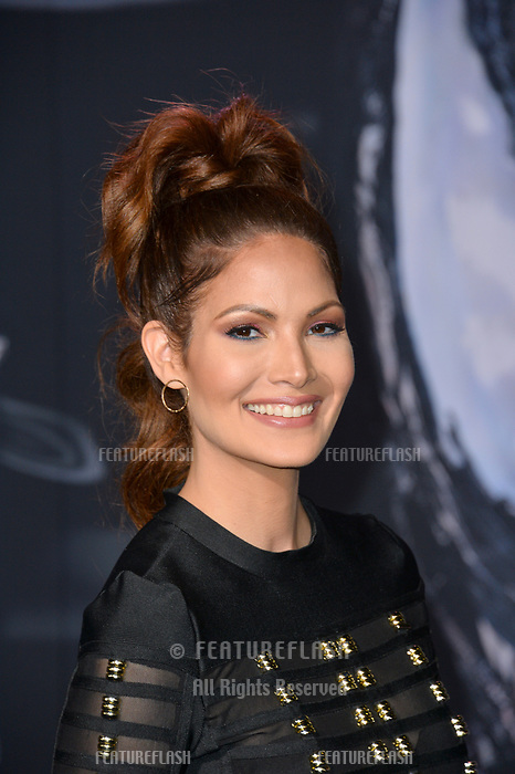 "LOS ANGELES, CA. October 01, 2018: Cynthia Olavarria at the world premiere for ""Venom"" at the Regency Village Theatre.<br /> Picture: Paul Smith/Featureflash"