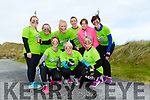 At the Banna Beach Beast Challenge on Saturday were Uni slim, killorglin and caherciveen Front l-r Claire Kelly, Jo Arbon, Lynne Fenton, Back l-r Linda Brennan, Val Courtney, Emir O'Shea, Jacinta O'Shea, Áine O'Connor, Deirdre Hayes McKen