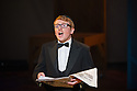 London, UK. 10.10.2014. Mountview Academy of Theatre Arts presents CURTAINS, at the Bernie Grant Arts Centre. Picture shows:  Liam Farrow (OSCAR SHAPIRO). Photograph © Jane Hobson.