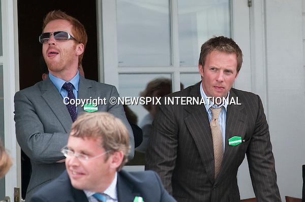 """Rupert Penry Jones and Damian Lewis attend the 25th Cartier International Polo at Guards Polo Club, Windsor_26/07/09.Mandatory Photo Credit: ©Dias/Newspix International..**ALL FEES PAYABLE TO: """"NEWSPIX INTERNATIONAL""""**..PHOTO CREDIT MANDATORY!!: NEWSPIX INTERNATIONAL(Failure to credit will incur a surcharge of 100% of reproduction fees)..IMMEDIATE CONFIRMATION OF USAGE REQUIRED:.Newspix International, 31 Chinnery Hill, Bishop's Stortford, ENGLAND CM23 3PS.Tel:+441279 324672  ; Fax: +441279656877.Mobile:  0777568 1153.e-mail: info@newspixinternational.co.uk"""