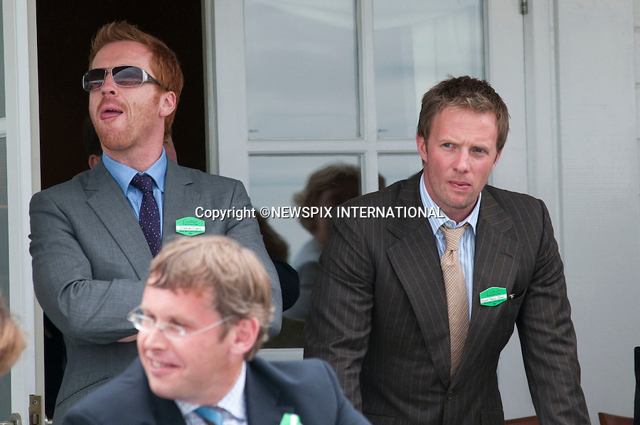 "Rupert Penry Jones and Damian Lewis attend the 25th Cartier International Polo at Guards Polo Club, Windsor_26/07/09.Mandatory Photo Credit: ©Dias/Newspix International..**ALL FEES PAYABLE TO: ""NEWSPIX INTERNATIONAL""**..PHOTO CREDIT MANDATORY!!: NEWSPIX INTERNATIONAL(Failure to credit will incur a surcharge of 100% of reproduction fees)..IMMEDIATE CONFIRMATION OF USAGE REQUIRED:.Newspix International, 31 Chinnery Hill, Bishop's Stortford, ENGLAND CM23 3PS.Tel:+441279 324672  ; Fax: +441279656877.Mobile:  0777568 1153.e-mail: info@newspixinternational.co.uk"