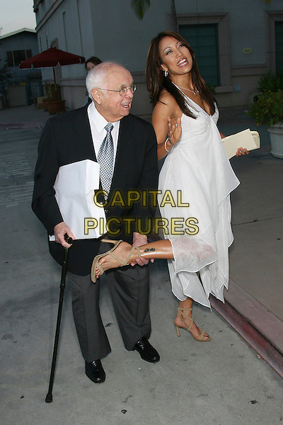 JOHNNY GRANT & CARRIE ANNE INABA.Opening of Assistance League Leeza's Place Care Center in Hollywood, Los Angeles, California, USA,.21 April 2006..full length carrie-ann carrie-anne ann  walking stick.Ref: ADM/ZL.www.capitalpictures.com.sales@capitalpictures.com.©Zach Lipp/AdMedia/Capital Pictures.