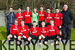 Tralee Dynamos B at the Tucker Kelly U16 Cup in Cahermoneen on Saturday