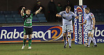 Connacht replacement Paul O'Donohoe celebrates victory over Cardiff Blues at the final whistle..Celtic League.Cardiff Blues v Connacht.22.02.13.©Steve Pope-SPORTINGWALES