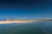 The River Lossie and Lossiemouth Beach, Seatown; Lossiemouth, Moray