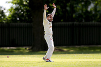 Bhav of Barking during Barking CC (fielding) vs Redbridge CC, Essex County League Cricket at Mayesbrook Park on 25th May 2019