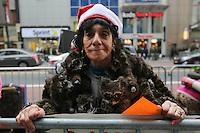 NEW YORK, NY, 25.11.2016 - PROTESTO-NEW YORK - Ativistas realizam protesto em defesa da proteção animal em frente a loja Macys em Manhattan na cidade de Nova Iorque nesta sexta-feira dia de liquidação Black Friday. (Foto: Vanessa Carvalho/Brazil Photo Press)