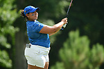HOUSTON, TX - MAY 19: Michelle Ruiz of Nova Southeastern tees off during the Division II Women's Golf Championship held at Bay Oaks Country Club on May 19, 2018 in Houston, Texas. (Photo by Justin Tafoya/NCAA Photos via Getty Images)
