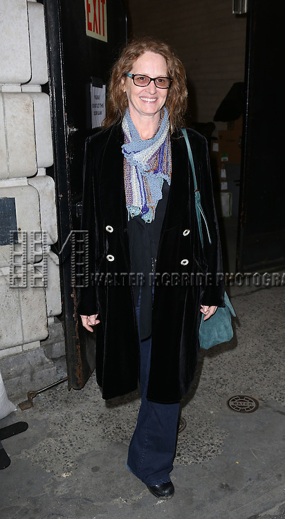 Melissa Leo attending the Broadway Opening Night Performance of 'A Raisin In The Sun'  at the Barrymore Theatre on April 3, 2014 in New York City.