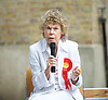 Vauxhall Hustings 2017 General Election Campaign at St Mark's Church, Kennington, London, Great Britain <br /> 27th May 2017 <br /> <br /> Kate Hoey<br /> Labour's candidate <br /> <br /> <br /> Photograph by Elliott Franks <br /> Image licensed to Elliott Franks Photography Services Vauxhall Outdoor Hustings at St. Mark's Church, 337 Kennington Park Road, London SE11 4PW. A General Election hustings for the Vauxhall constituency has been called by Steve Coulson, the Vicar of St. Mark&rsquo;s Kennington, and Chair of the Friends of St. Mark&rsquo;s Churchyard. The outdoor event will take place at St Mark&rsquo;s on 18 April as part of the popular Oval Farmer&rsquo;s Market.