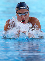 Trofeo Settecolli di nuoto al Foro Italico, Roma, 15 giugno 2013.<br /> Zsuzsanna Jakabos, of Hungaria, competes in the women's 200 meters Medley at the Sevenhills swimming trophy in Rome, 15 June 2013.<br /> UPDATE IMAGES PRESS/Isabella Bonotto