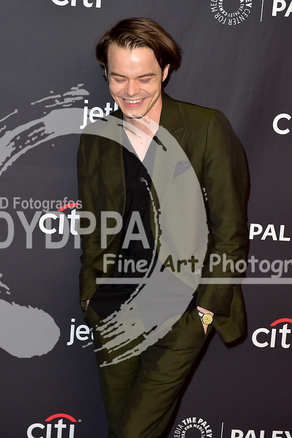 Charlie Heaton beim Screening der Netflix TV-Serie 'Stranger Things' auf dem 35. Paleyfest 2018 im Dolby Theatre, Hollywood. Los Angeles, 25.03.2018