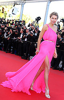 """Jessica Hart attends the """" Behind The Candelabra """"  Premiere during The 66th Cannes Film Festival"""