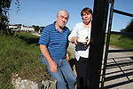 Michael and Nora Markey who have had things stolen and broken at the grave of their two sons in Calvary Cemetary...Picture Jenny Matthews/Newsfile.ie