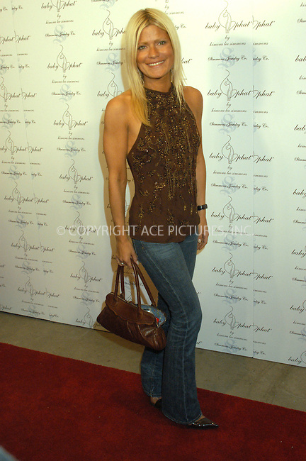 WWW.ACEPIXS.COM . . . . . ....NEW YORK, FEBRUARY 5, 2005....Lizzie Grubman at the Baby Phat Fall 2005 fashion show.....Please byline: KRISTIN CALLAHAN - ACE PICTURES.. . . . . . ..Ace Pictures, Inc:  ..Philip Vaughan (646) 769-0430..e-mail: info@acepixs.com..web: http://www.acepixs.com