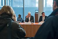 25. Sitzung des Abgas-Untersuchungsausschuss des Deutschen Bundestag am Donnerstag den 16. Februar 2017.<br /> Als Zeuge war u.a. der Minsterpraesident von Niedersachsen, Stephan Weil (SPD) geladen.<br /> Im Bild: Der Ausschussvorsitzende Herbert Behrens (Linkspartei).<br /> 16.2.2017, Berlin<br /> Copyright: Christian-Ditsch.de<br /> [Inhaltsveraendernde Manipulation des Fotos nur nach ausdruecklicher Genehmigung des Fotografen. Vereinbarungen ueber Abtretung von Persoenlichkeitsrechten/Model Release der abgebildeten Person/Personen liegen nicht vor. NO MODEL RELEASE! Nur fuer Redaktionelle Zwecke. Don't publish without copyright Christian-Ditsch.de, Veroeffentlichung nur mit Fotografennennung, sowie gegen Honorar, MwSt. und Beleg. Konto: I N G - D i B a, IBAN DE58500105175400192269, BIC INGDDEFFXXX, Kontakt: post@christian-ditsch.de<br /> Bei der Bearbeitung der Dateiinformationen darf die Urheberkennzeichnung in den EXIF- und  IPTC-Daten nicht entfernt werden, diese sind in digitalen Medien nach §95c UrhG rechtlich geschuetzt. Der Urhebervermerk wird gemaess §13 UrhG verlangt.]