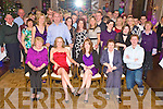 Marie Driscoll, Firies,second from left, pictured with family and many friends as she celebrated her 30th birthday in The Brehon Hotel, Killarney, on Saturday night.