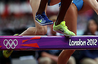 04.08.2012. London, England.  Athlete competes in the womens 3000m Steeplechase Heat  London 2012 Olympic Games