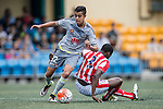 Wellington Phoenix vs Stoke City during the Main of the HKFC Citi Soccer Sevens on 21 May 2016 in the Hong Kong Footbal Club, Hong Kong, China. Photo by Lim Weixiang / Power Sport Images