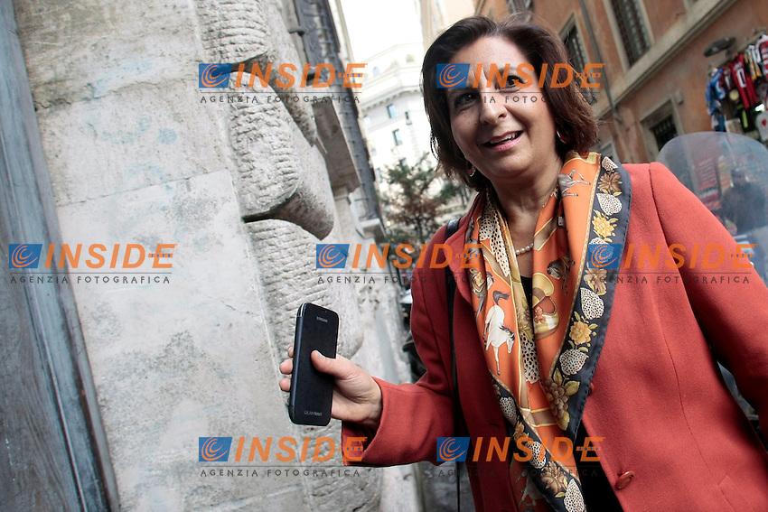 Di Giorgi Rosa Maria<br /> Roma 13/02/2014 Direzione del Partito Democratico.<br /> Photo Samantha Zucchi Insidefoto