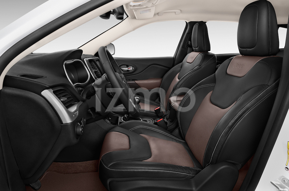 Front seat view of a 2015 Jeep Cherokee Limited 5 Door SUV front seat car photos