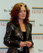 Bonnie Raitt arrives for the formal Artist's Dinner honoring the recipients of the 2012 Kennedy Center Honors hosted by United States Secretary of State Hillary Rodham Clinton at the U.S. Department of State in Washington, D.C. on Saturday, December 1, 2012. The 2012 honorees are Buddy Guy, actor Dustin Hoffman, late-night host David Letterman, dancer Natalia Makarova, and the British rock band Led Zeppelin (Robert Plant, Jimmy Page, and John Paul Jones)..Credit: Ron Sachs / CNP