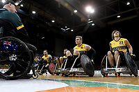 Australian Steelers vs GB<br /> Australian Wheelchair Rugby Team<br /> 2018 IWRF WheelChair Rugby <br /> World Championship / Semi Finals<br /> Sydney  NSW Australia<br /> Thursday 9th August 2018<br /> © Sport the library / Jeff Crow / APC