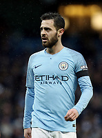 Manchester City's Bernardo Silva<br /> <br /> Photographer Rich Linley/CameraSport<br /> <br /> Emirates FA Cup Fourth Round - Manchester City v Burnley - Saturday 26th January 2019 - The Etihad - Manchester<br />  <br /> World Copyright © 2019 CameraSport. All rights reserved. 43 Linden Ave. Countesthorpe. Leicester. England. LE8 5PG - Tel: +44 (0) 116 277 4147 - admin@camerasport.com - www.camerasport.com