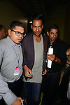 CORAL GABLES, FL - JULY 17:  Romeo Santos backstage during the Premios Juventud 2014 at The BankUnited Center on July 17, 2014 in Coral Gables, Florida.  (Photo by Johnny Louis/jlnphotography.com)