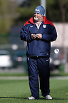 14 October 2014: U.S. team doctor Cody Malley. The United States Women's National Team held a training session on the stadium field at Swope Park Soccer Village in Kansas City, Missouri in preparation for the CONCACAF Women's World Cup Qualifying Tournament for the 2015 Women's World Cup in Canada.