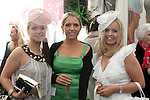 Sinead and Sabrina Egan with Valerie Kerley at the Bellewstown Races...Photo NEWSFILE/Jenny Matthews.(Photo credit should read Jenny Matthews/NEWSFILE)....This Picture has been sent you under the condtions enclosed by:.Newsfile Ltd..The Studio,.Millmount Abbey,.Drogheda,.Co Meath..Ireland..Tel: +353(0)41-9871240.Fax: +353(0)41-9871260.GSM: +353(0)86-2500958.email: pictures@newsfile.ie.www.newsfile.ie.FTP: 193.120.102.198.