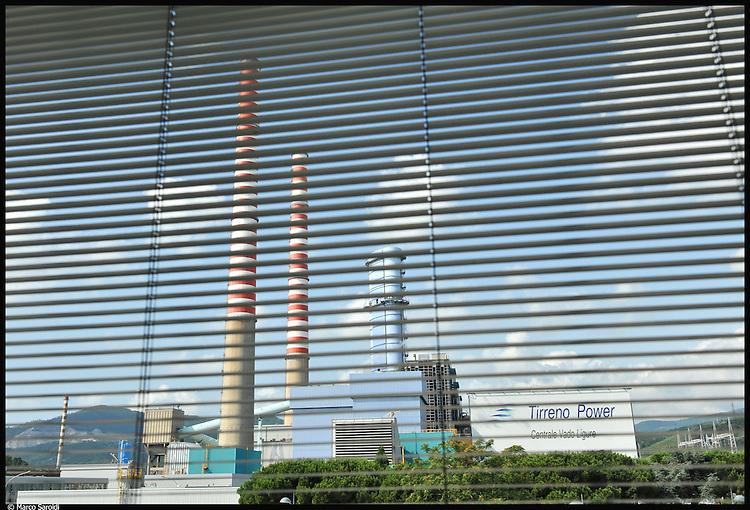 La Tirreno Power, centrale elettrica a carbone di Vado Ligure (SV).