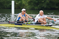 Race: 4  MasH.2x  Quarter-Final<br /> 376  Tees Rowing Club<br /> 377  Cambridge Boat Club/Christiania Roklub Composite<br /> <br /> Henley Masters Regatta 2018 - Friday<br /> <br /> To purchase this photo, or to see pricing information for Prints and Downloads, click the blue 'Add to Cart' button at the top-right of the page.