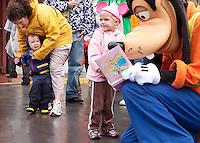 Disneyland in the Rain