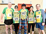 Brendan Rogers, Joanne Muckian, Leonard Butterly, Jeniffer and Eddie Caffrey who took part in the Annagassan 10K. Photo:Colin Bell/pressphotos.ie