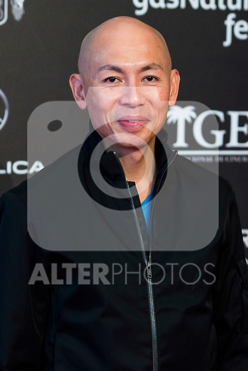 """Chinese director Dante Lam pose to the media during the presentation of the film """"Operation Mekong"""" at Festival de Cine Fantastico de Sitges in Barcelona. October 10, Spain. 2016. (ALTERPHOTOS/BorjaB.Hojas)"""