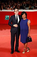 Director of Rome Film Fest Antonio Monda with his wife<br /> Roma 19/10/2018. Auditorium parco della Musica. Festa del Cinema di Roma 2018.<br /> Rome October 19th 2018. Rome Film Fest 2018<br /> Foto Samantha Zucchi Insidefoto