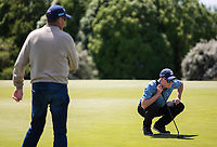 Greg Turner and Jack Turner for Otago v Southland in the morning match up during the Toro Men's Interprovincial Golf Championship, Clearwater Golf Course, Christchurch, New Zealand. photo: Joseph Johnston/www.bwmedia.co.nz