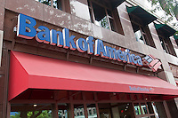 A branch of Bank of America is pictured in Hartford, Connecticut, Saturday August 6, 2011. Bank of America Corporation (NYSE: BAC) is an American multinational banking and financial services corporation.