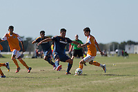 Lakewood Ranch, FL - Saturday, November 29, 2014: U.S. Soccer U17/18 2014 Development Academy Winter Showcase and Nike International Friendlies at Premier Sports Campus.