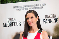 L'attrice statunitense Jennifer Connelly posa durante un photocall per la presentazione del film 'American Pastoral' a Roma, 3 ottobre 2016.<br /> U.S. actress Jennifer Connelly poses during a photocall for the presentation of the movie 'American Pastoral' in Rome, 3 October 2016.<br /> UPDATE IMAGES PRESS/Riccardo De Luca