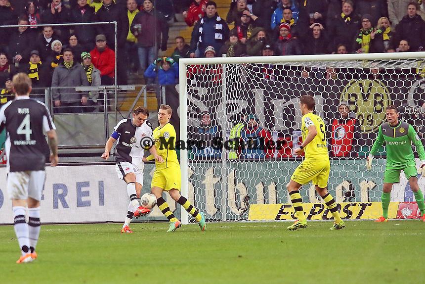 Alex Meier (Eintracht) - Eintracht Frankfurt vs. Borussia Dortmund, DFB-Pokal Viertelfinale