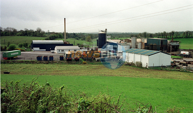 The Monery By-products plant in Co Cavan where all the BSE cases in Ireland are stored and delt with..Pic Fran Caffrey / Newsfile.Story Chris McCashin