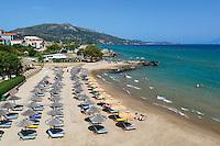 Greece, Ionian Islands, Zakynthos, Vassilikos (Vasilikos): Plaka Beach | Griechenland, Ionische Inseln, Zakynthos, Vassilikos (Vasilikos): Plaka Beach