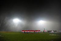 The Lions line up before the 2017 DHL Lions Series rugby union match between the NZ Maori and British & Irish Lions at Rotorua International Stadium in Rotorua, New Zealand on Saturday, 17 June 2017. Photo: Dave Lintott / lintottphoto.co.nz