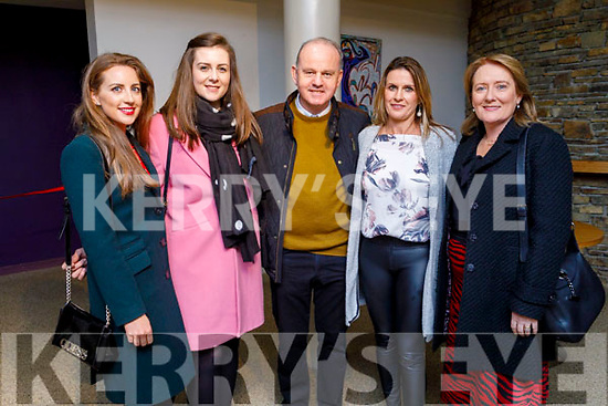 """Staff of Scoil Eoin Balloonagh enjoying the evening supporting their colleague Deirdre Millane launching her CD """"Idir Dubh agus Bán"""" in Siamsa Tire on Friday evening.<br /> L to r: Kathleen Houlihan, Clodagh Foley, Joe McMahon, Trease Greaney and Aileen Hill."""