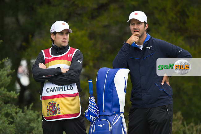 Jorge Campillo (ESP) during the second day of the World cup of Golf, The Metropolitan Golf Club, The Metropolitan Golf Club, Victoria, Australia. 23/11/2018<br /> Picture: Golffile   Anthony Powter<br /> <br /> <br /> All photo usage must carry mandatory copyright credit (© Golffile   Anthony Powter)