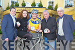 Launching the Ring of Kerry documentary which will be shown on TG4 this Sunday at 3pm were l-r: Tom O'Leary O'Leary associates, Niamh Blanche National Digital Skills Centre, Cathal Walshe Ring of Kerry committee, Paul Doolan National Digital Skills Centre and Tim O'Brien Chairman Ring of Kerry cycle