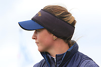 Linn Grant (SWE) on the 18th green during the Matchplay Semi-Final of the Women's Amateur Championship at Royal County Down Golf Club in Newcastle Co. Down on Saturday 15th June 2019.<br /> Picture:  Thos Caffrey / www.golffile.ie