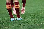 Calcio, Serie A: AS Roma vs Torino. Roma, stadio Olimpico, 19 novembre 2012..AS Roma players warm up prior to the start of the Italian Serie A football match between AS Roma and Torino at Rome's Olympic stadium, 19 November 2012..UPDATE IMAGES PRESS/Riccardo De Luca